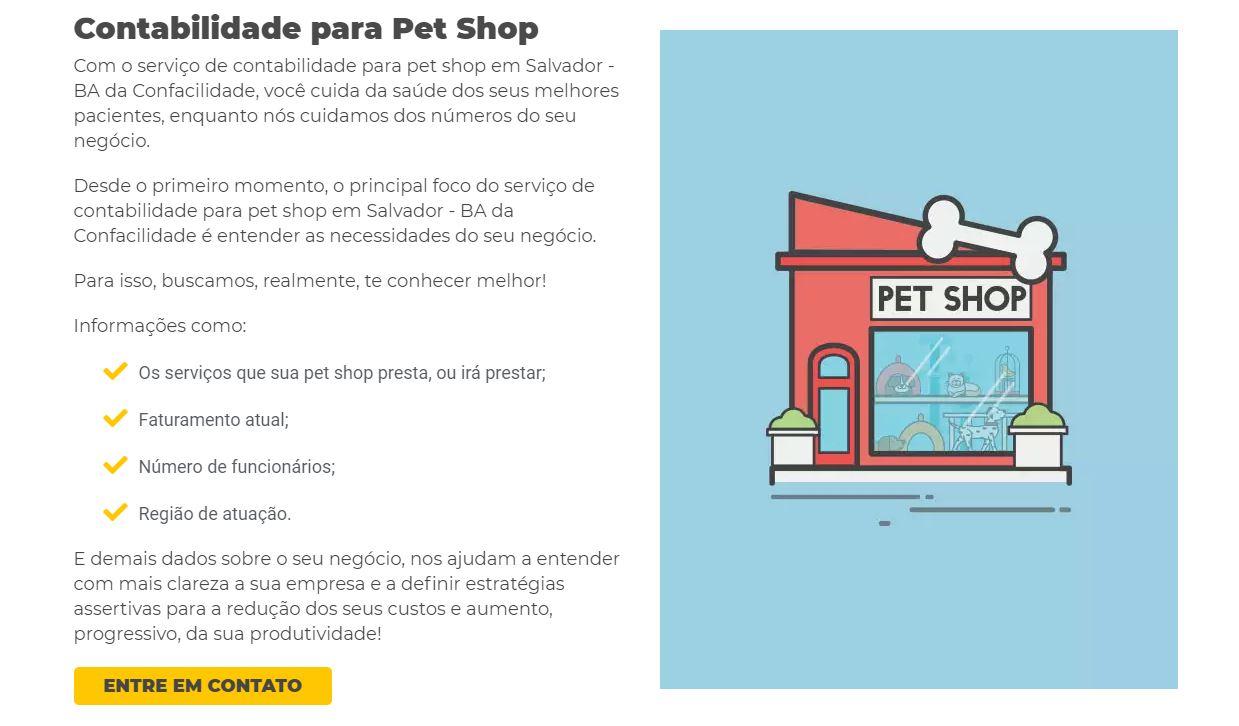 Contabilidade Para Petshop - Contabilidade em Salvador - BA | Confacilidade - Contabilidade Para Pet Shop Em Lauro de Freitas
