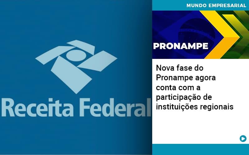 Nova Fase Do Pronampe Agora Conta Com A Participacao De Instituicoes Regionais - Contabilidade em Salvador - BA | Confacilidade - Nova fase do Pronampe agora conta com a participação de instituições regionais